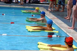 Swimming at Goldsworth Primary School