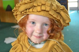 Early Years Dressing Up at Goldsworth School