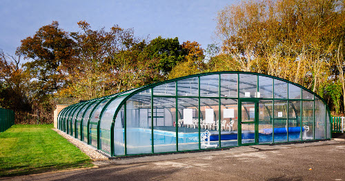 Goldsworth Primary School pool enclosure external