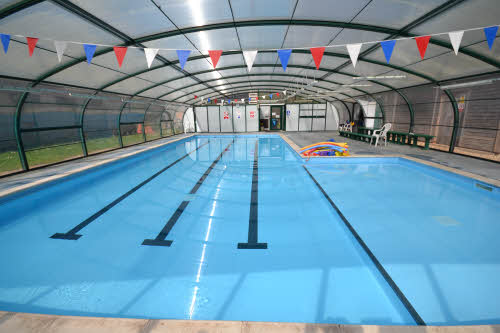 Goldsworth Primary School pool enclosure internal